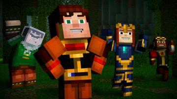 Immagine -2 del gioco Minecraft: Story Mode per Nintendo Wii U