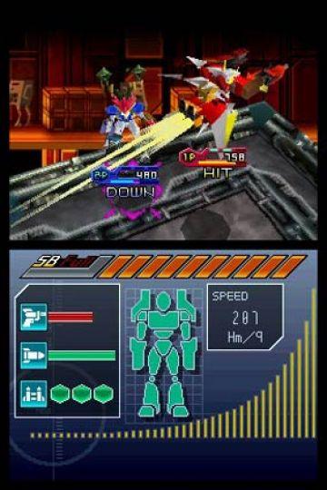 Immagine -2 del gioco Custom Robo Arena per Nintendo DS