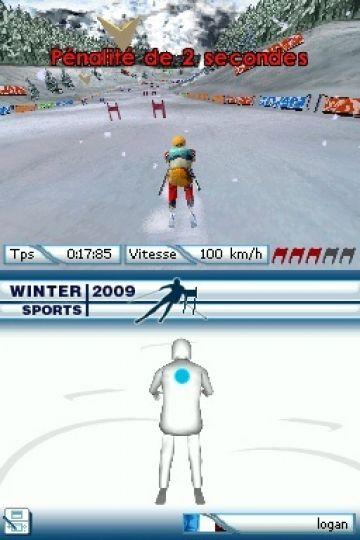 Immagine -5 del gioco Winter Sports 2009: The Next Challenge per Nintendo DS