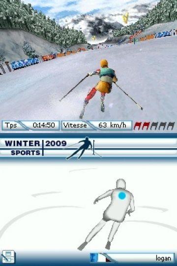 Immagine -2 del gioco Winter Sports 2009: The Next Challenge per Nintendo DS