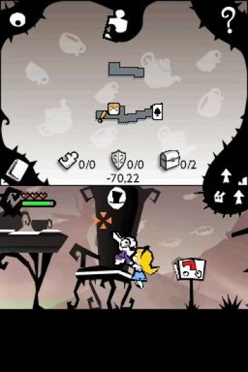 Immagine -4 del gioco Alice In Wonderland per Nintendo DS