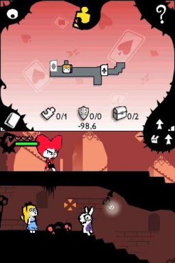 Immagine -3 del gioco Alice In Wonderland per Nintendo DS
