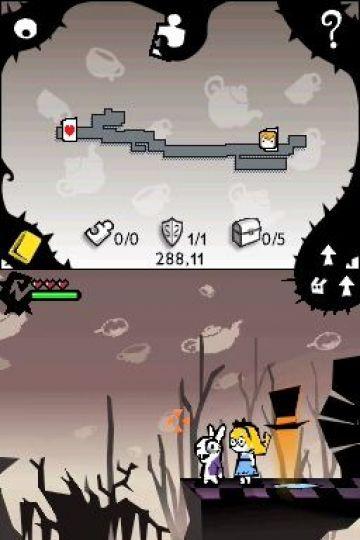 Immagine -2 del gioco Alice In Wonderland per Nintendo DS
