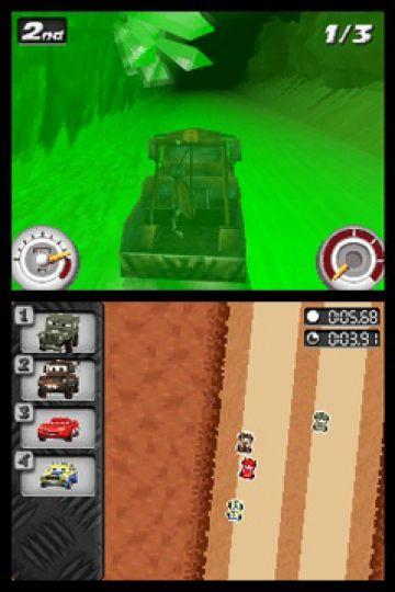 Immagine -2 del gioco Cars: La Coppa Internazionale di Carl Attrezzi per Nintendo DS