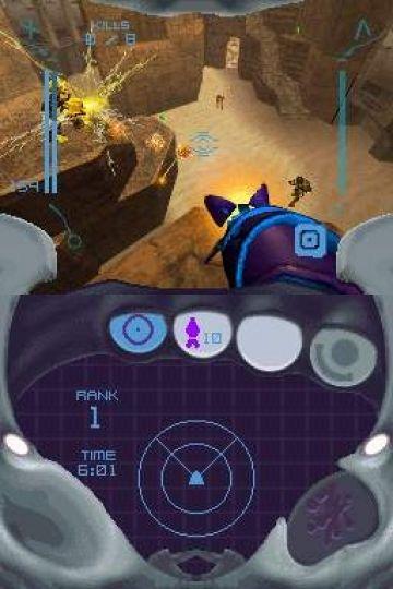Immagine -3 del gioco Metroid Prime Hunters per Nintendo DS