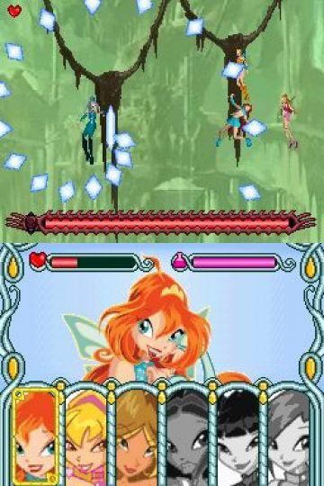 Immagine -2 del gioco Winx Club: The Quest for the Codex per Nintendo DS