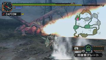 Immagine -3 del gioco Monster Hunter Freedom Unite per PlayStation PSP