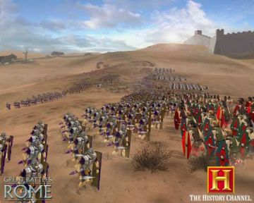 Immagine -16 del gioco The History Channel: Great Battles of Rome per PlayStation 2