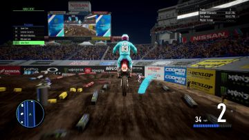 Immagine -16 del gioco Monster Energy Supercross - The Official Videogame 3 per PlayStation 4