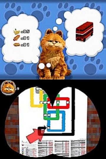 Immagine -10 del gioco Garfield 2 per Nintendo DS