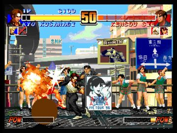 Immagine -4 del gioco The King of Fighters Collection: The Orochi Saga per PlayStation PSP