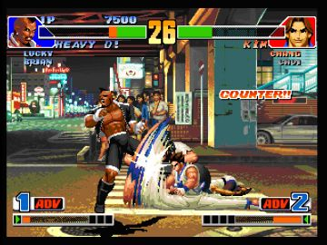 Immagine -3 del gioco The King of Fighters Collection: The Orochi Saga per PlayStation PSP