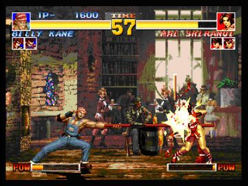 Immagine -2 del gioco The King of Fighters Collection: The Orochi Saga per PlayStation PSP