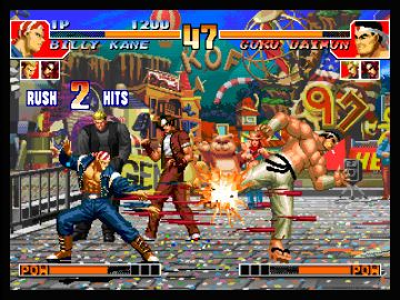 Immagine -1 del gioco The King of Fighters Collection: The Orochi Saga per PlayStation PSP