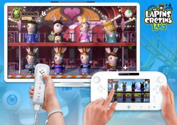 Immagine -3 del gioco Rabbids Land per Nintendo Wii U