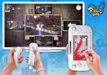 Immagine -2 del gioco Rabbids Land per Nintendo Wii U