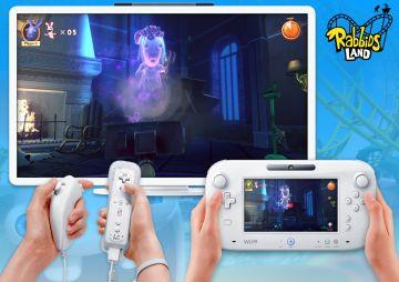 Immagine -1 del gioco Rabbids Land per Nintendo Wii U