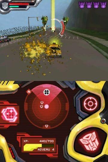 Immagine -5 del gioco Transformers: Autobots per Nintendo DS