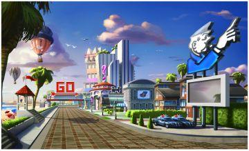 Immagine -4 del gioco Monopoly Streets per Nintendo Wii