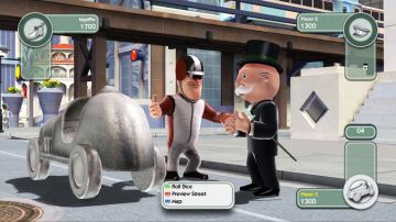 Immagine -2 del gioco Monopoly Streets per Nintendo Wii