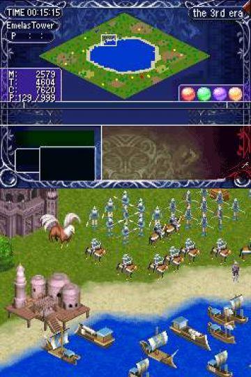 Immagine -5 del gioco Ys Strategy per Nintendo DS