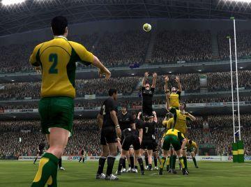 Immagine -2 del gioco Rugby 08 per PlayStation 2