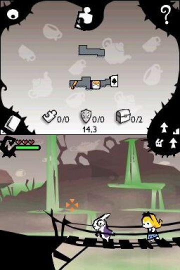 Immagine -5 del gioco Alice In Wonderland per Nintendo DS