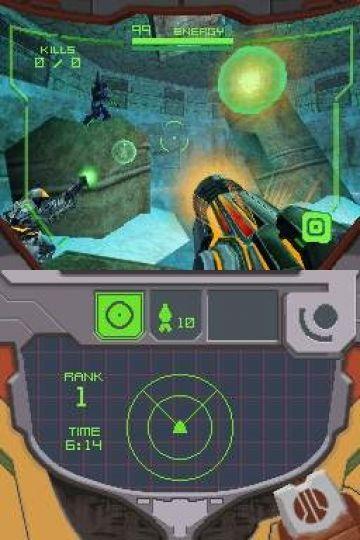 Immagine -4 del gioco Metroid Prime Hunters per Nintendo DS