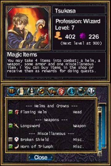 Immagine -3 del gioco Puzzle Quest: Challenge of the Warlords per Nintendo DS