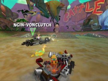 Immagine -5 del gioco Crash Tag team racing per PlayStation 2