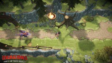 Immagine -3 del gioco DreamWorks Dragons: L'alba dei nuovi cavalieri per Nintendo Switch