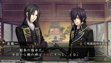 Immagine -1 del gioco Hakuoki: Edo Blossoms per PSVITA