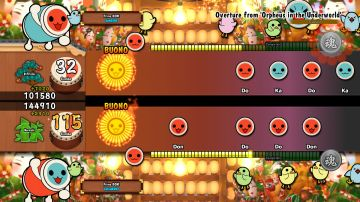 Immagine -2 del gioco Taiko no Tatsujin: Drum Session! per PlayStation 4