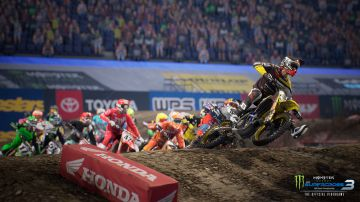 Immagine -1 del gioco Monster Energy Supercross - The Official Videogame 3 per PlayStation 4