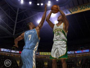 Immagine -1 del gioco NBA Live 2006 per PlayStation 2