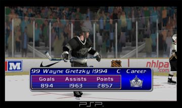 Immagine -4 del gioco NHL Gretzky Hockey per Playstation PSP