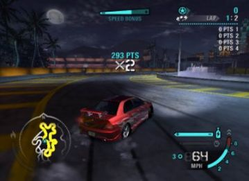 Immagine -10 del gioco Need for Speed Carbon per PlayStation 2