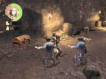 Immagine -1 del gioco Pirati dei Caraibi: La Leggenda di Jack Sparrow per Playstation 2