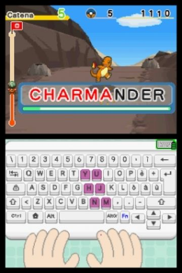Immagine -4 del gioco Impara con Pokemon: Avventura Tra I Tasti per Nintendo DS