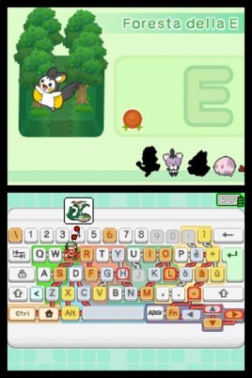 Immagine -2 del gioco Impara con Pokemon: Avventura Tra I Tasti per Nintendo DS