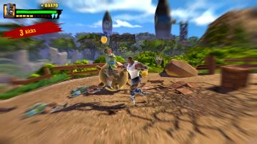 Immagine -8 del gioco Shaq Fu: A Legend Reborn per PlayStation 4