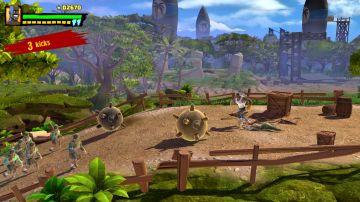 Immagine -1 del gioco Shaq Fu: A Legend Reborn per PlayStation 4
