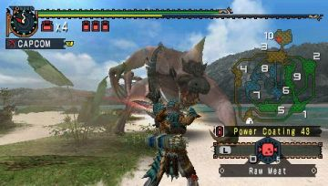 Immagine -1 del gioco Monster Hunter Freedom 2 per PlayStation PSP