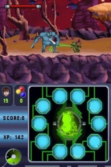 Immagine -5 del gioco Ben 10: Alien Force: Vilgax Attacks per Nintendo DS
