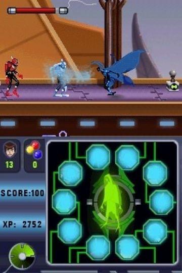 Immagine -4 del gioco Ben 10: Alien Force: Vilgax Attacks per Nintendo DS