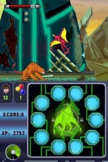 Immagine -2 del gioco Ben 10: Alien Force: Vilgax Attacks per Nintendo DS