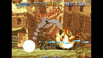 Immagine -9 del gioco Metal Slug Anthology per PlayStation PSP