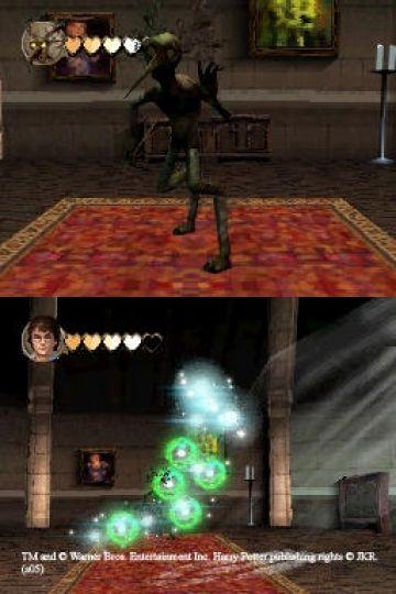 Immagine -3 del gioco Harry Potter e il Calice di Fuoco per Nintendo DS
