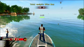 Immagine -5 del gioco Rapala Pro Bass Fishing per Nintendo Wii