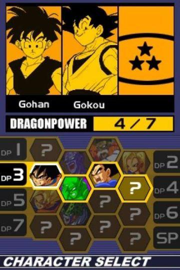 Immagine -5 del gioco Dragon Ball Z: Supersonic Warriors 2 per Nintendo DS